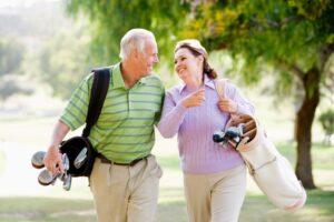 Retiree Golfing 300x200